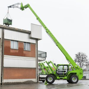 Merlo P50.18Plus with stabilizers