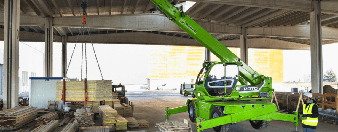 Merlo Roto 50.30S Plus Crane Lift